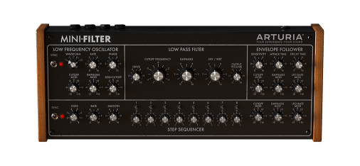 MiniFilter Arturia, le VST Studio Pro, qu il vous faut….